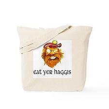 eat yer haggis copy Tote Bag