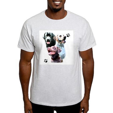 Lab Trio Ash Grey T-Shirt