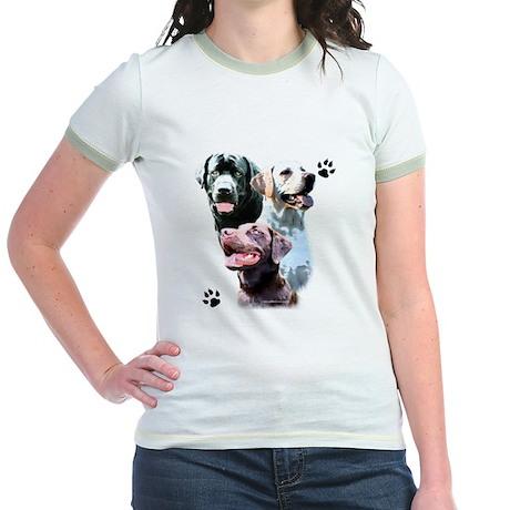 Lab Trio Jr. Ringer T-Shirt