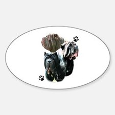 Neo Trio Oval Decal