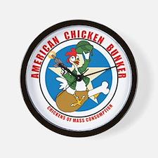 American Chicken Bunker Wall Cluck