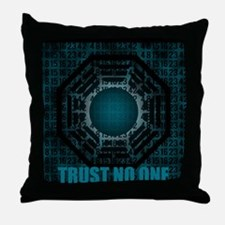 trust no one Throw Pillow