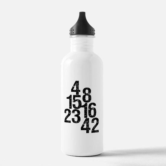 2-lostnumbers Water Bottle