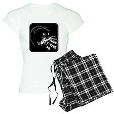 momcat3eyes10x10 Pajamas