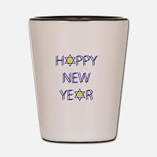 Happy New Year, Rosh Hashanah Shot Glass