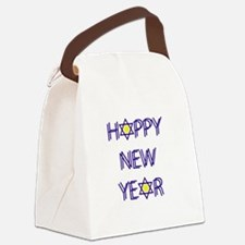 Happy New Year, Rosh Hashanah Canvas Lunch Bag