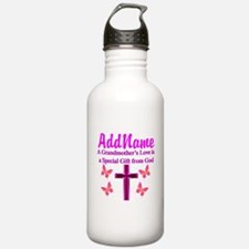 DIVINE GRANDMA Water Bottle