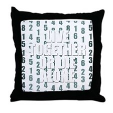 LOST Live Together Throw Pillow