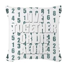 LOST Live Together Woven Throw Pillow