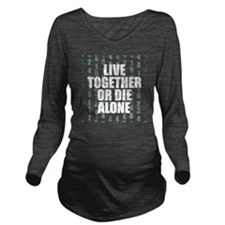 LOST Live Together Long Sleeve Maternity T-Shirt