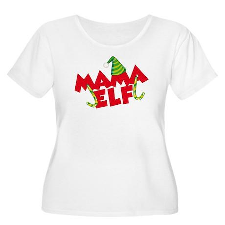 Mama Elf Plus Size T-Shirt