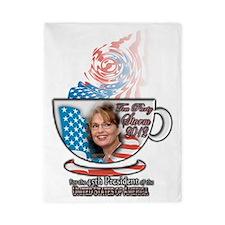 Sarah Palin Tea Party 2012 cup Twin Duvet
