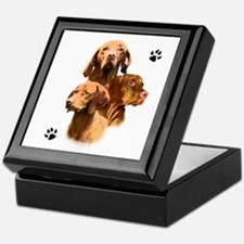 Vizsla Trio Keepsake Box