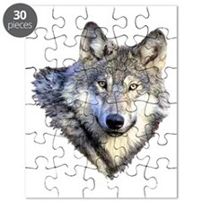 3-GRAY WOLF Puzzle