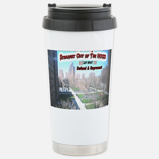 DEFEND-AND-REPRESENT Stainless Steel Travel Mug