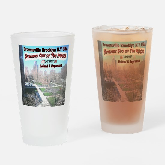 DEFEND-AND-REPRESENT Drinking Glass