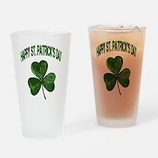 shamrock2 Drinking Glass