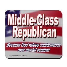 God Values Conformance Mousepad