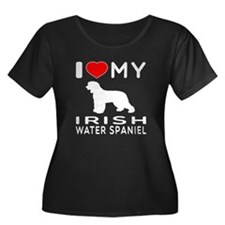 I Love My Irish Water Spaniel T