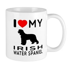 I Love My Irish Water Spaniel Mug