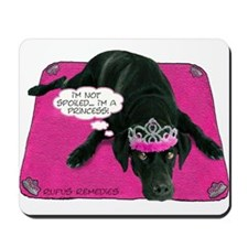 Black Lab Princess Mousepad