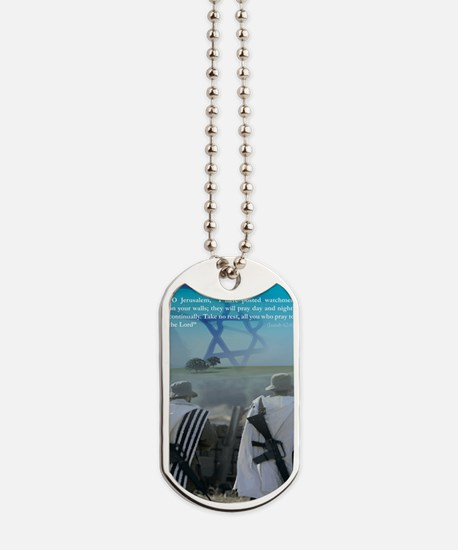 Watchman On Your Walls Dog Tags