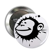 "LARGE MonkeySplat 2.25"" Button"