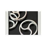 BDSM triskelion Rectangle Magnet (100 pack)