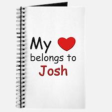 My heart belongs to josh Journal