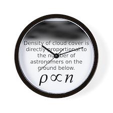 cloud_density3 Wall Clock