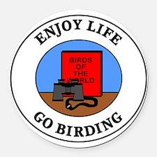 birding1 Round Car Magnet
