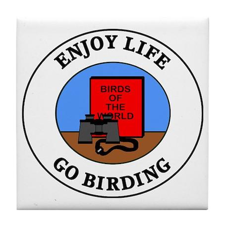birding1 Tile Coaster