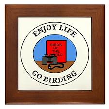 birding1 Framed Tile