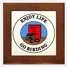 birding1 Framed Tile