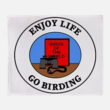 birding1 Throw Blanket