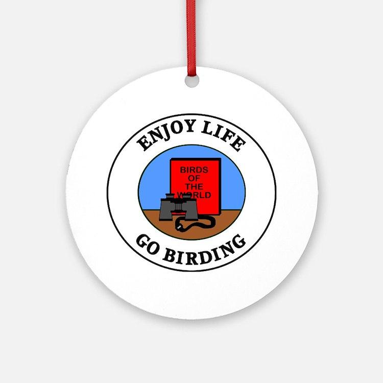 birding1 Round Ornament