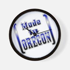 made_OREGON_T Wall Clock