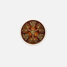 Norse Chieftain's Shield - Copper & Go Mini Button