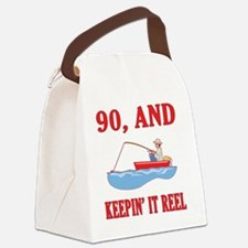 reel90 Canvas Lunch Bag