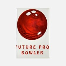 Future Pro Bowler Shirts for Chil Rectangle Magnet