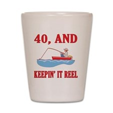 reel40 Shot Glass