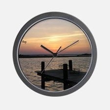 BarnegatBayShirt7 Wall Clock