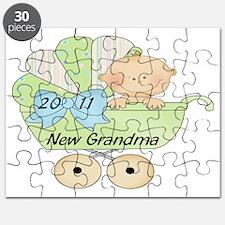 3 2011 new grandma green Puzzle