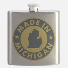 2-Made-In-MICHIGAN Flask