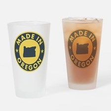 Made-In-OREGON Drinking Glass