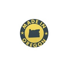 Made-In-OREGON Mini Button