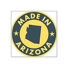 """Made-In-ARIZONA Square Sticker 3"""" x 3"""""""