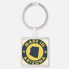Made-In-ARIZONA Square Keychain