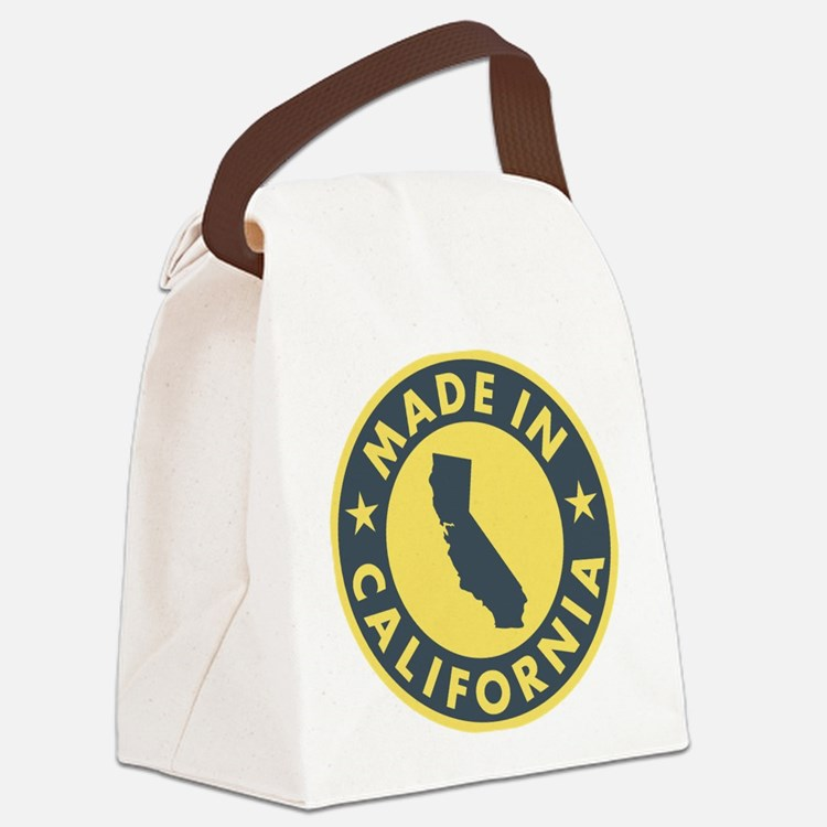 Made-In-Califotnia Canvas Lunch Bag