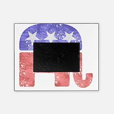 2-RepublicanLogoTexturedGreyBackgrou Picture Frame